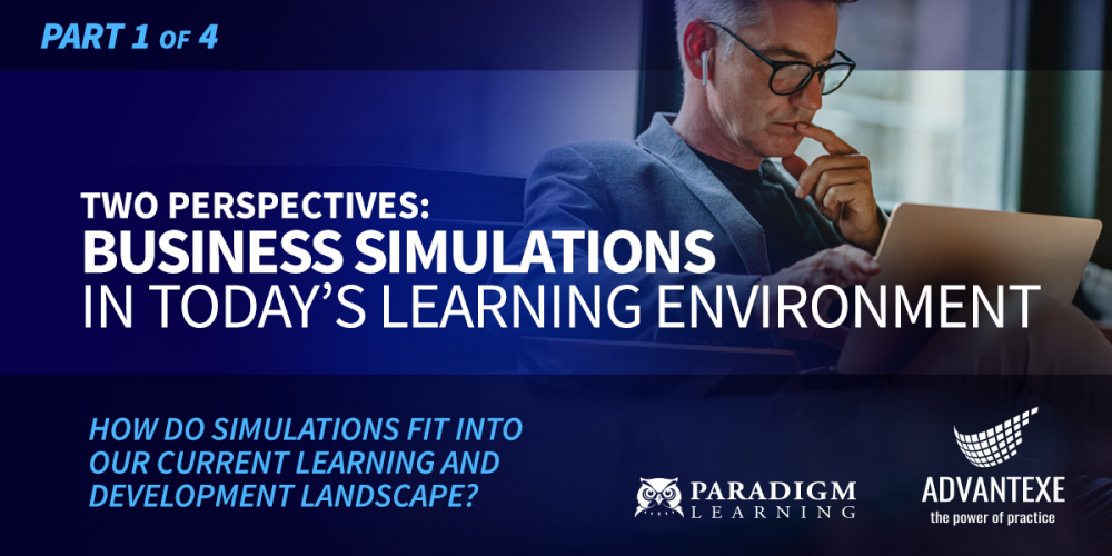 Virtual business acumen training and simulation