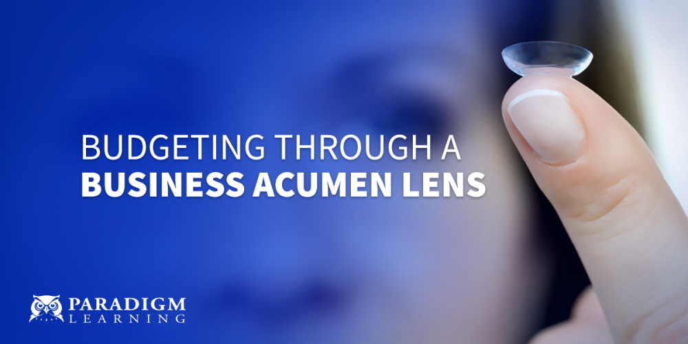 Budgeting Through a Business Acumen Lens | Paradigm Learning