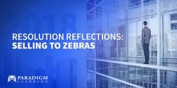 Resolution Reflections: Selling to Zebras