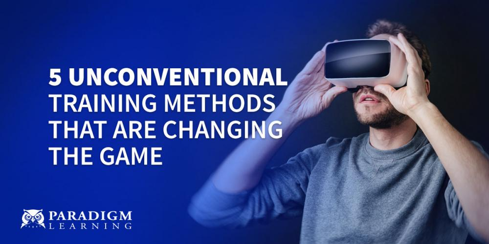 5 Unconventional Training Methods that are Changing the Game | Paradigm Learning