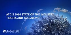 ATD's 2016 State of the Industry: Tidbits and Takeaways