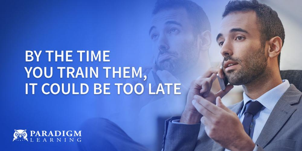 By the Time you Train them, It Could be Too Late | Paradigm Learning