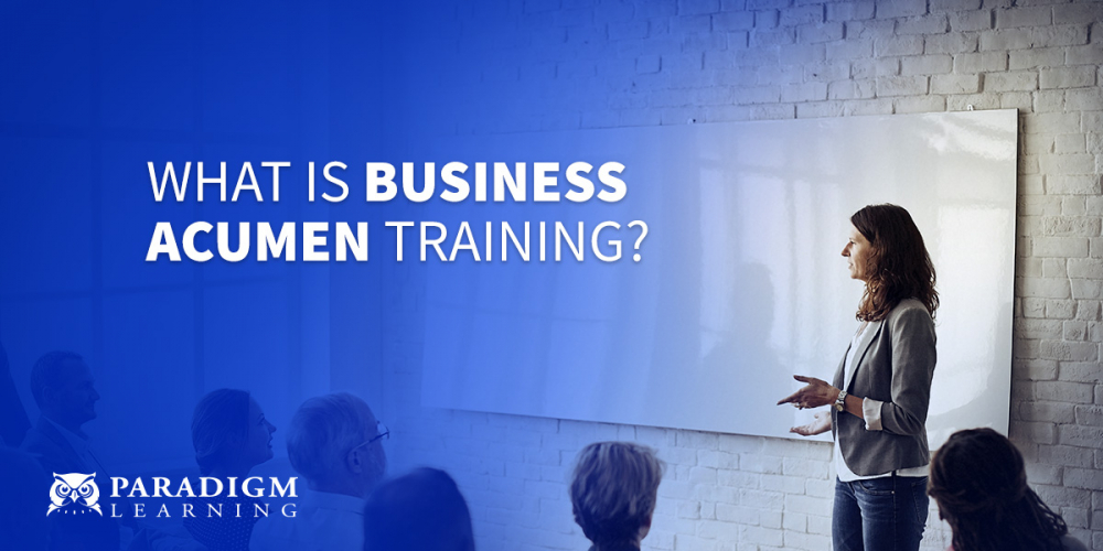 What is Business Acumen Training? | Paradigm Learning