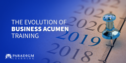 The Evolution of Business Acumen Training