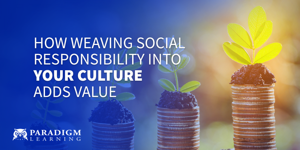 How Weaving Social Responsibility into Your Culture Adds Value | Paradigm Learning