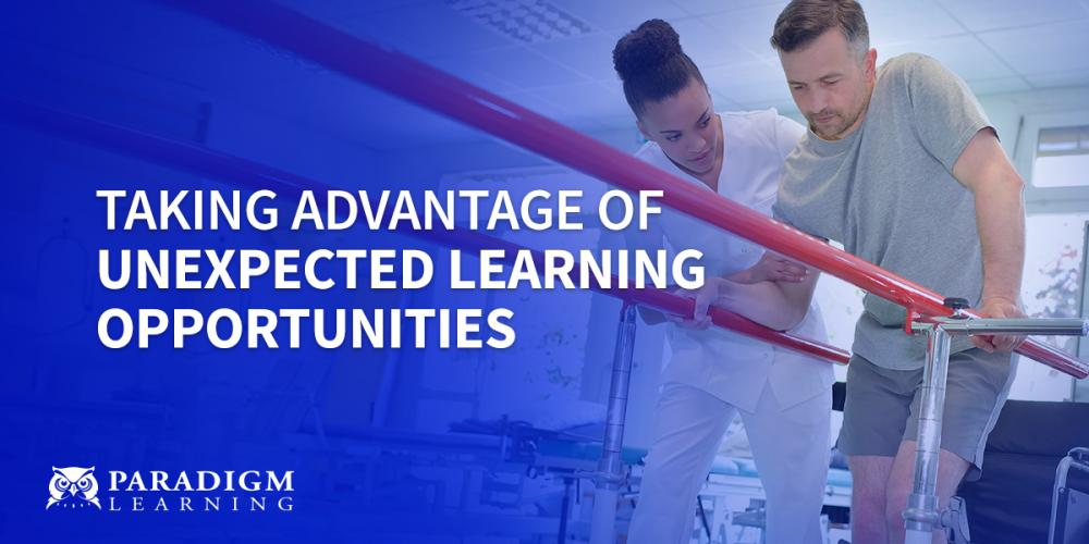 Taking Advantage of Unexpected Learning Opportunities | Paradigm Learning